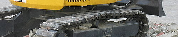 Rubber Tracks and Steel Tracks